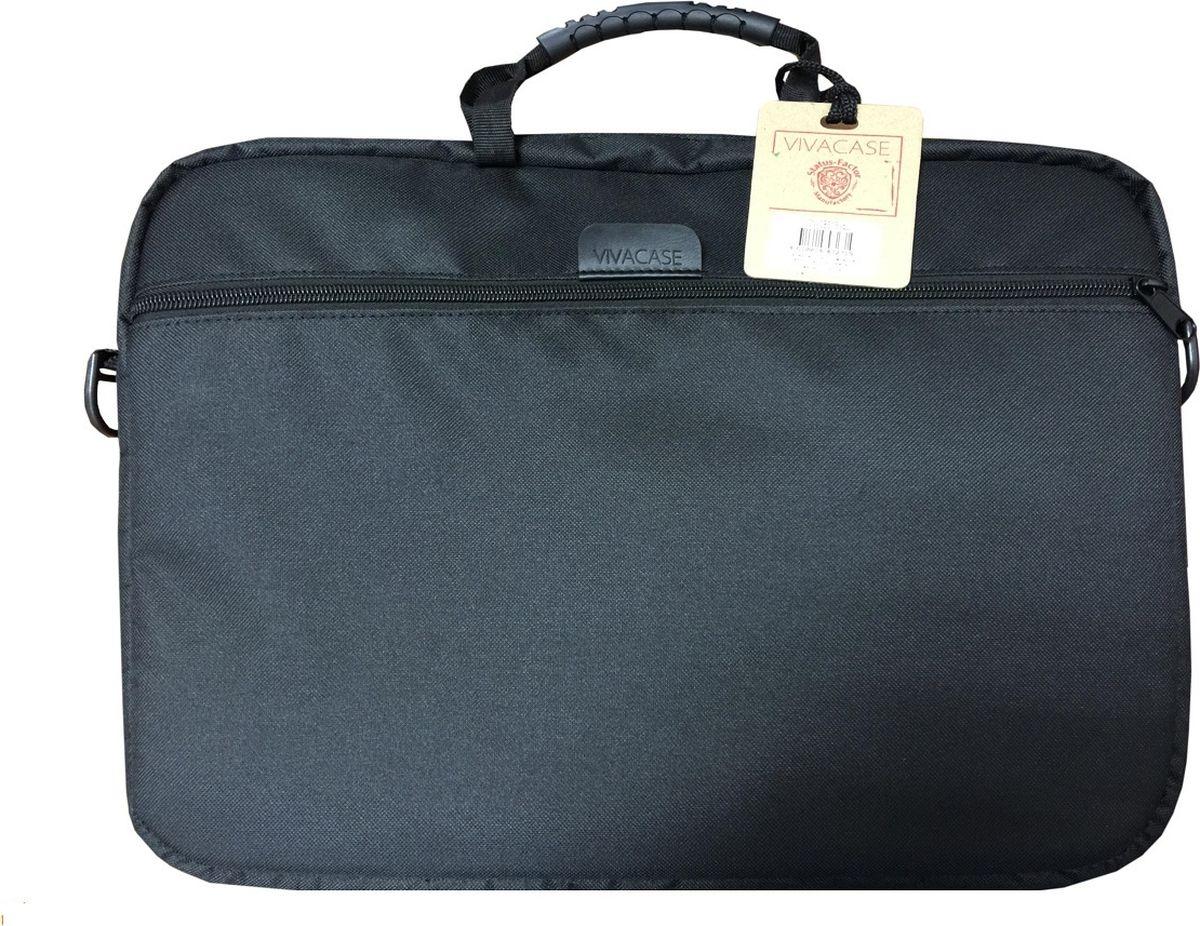 "Vivacase Business, Black сумка для ноутбука 15.6"""