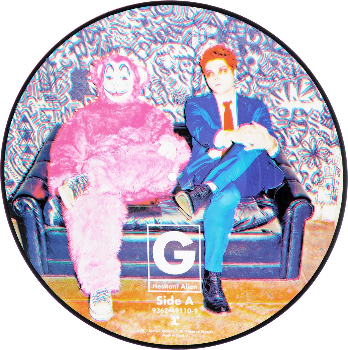 Джерард Уэй Gerard Way. Hesitant Alien. Picture Vinyl (LP) gerard way gerard way hesitant alien picture disc