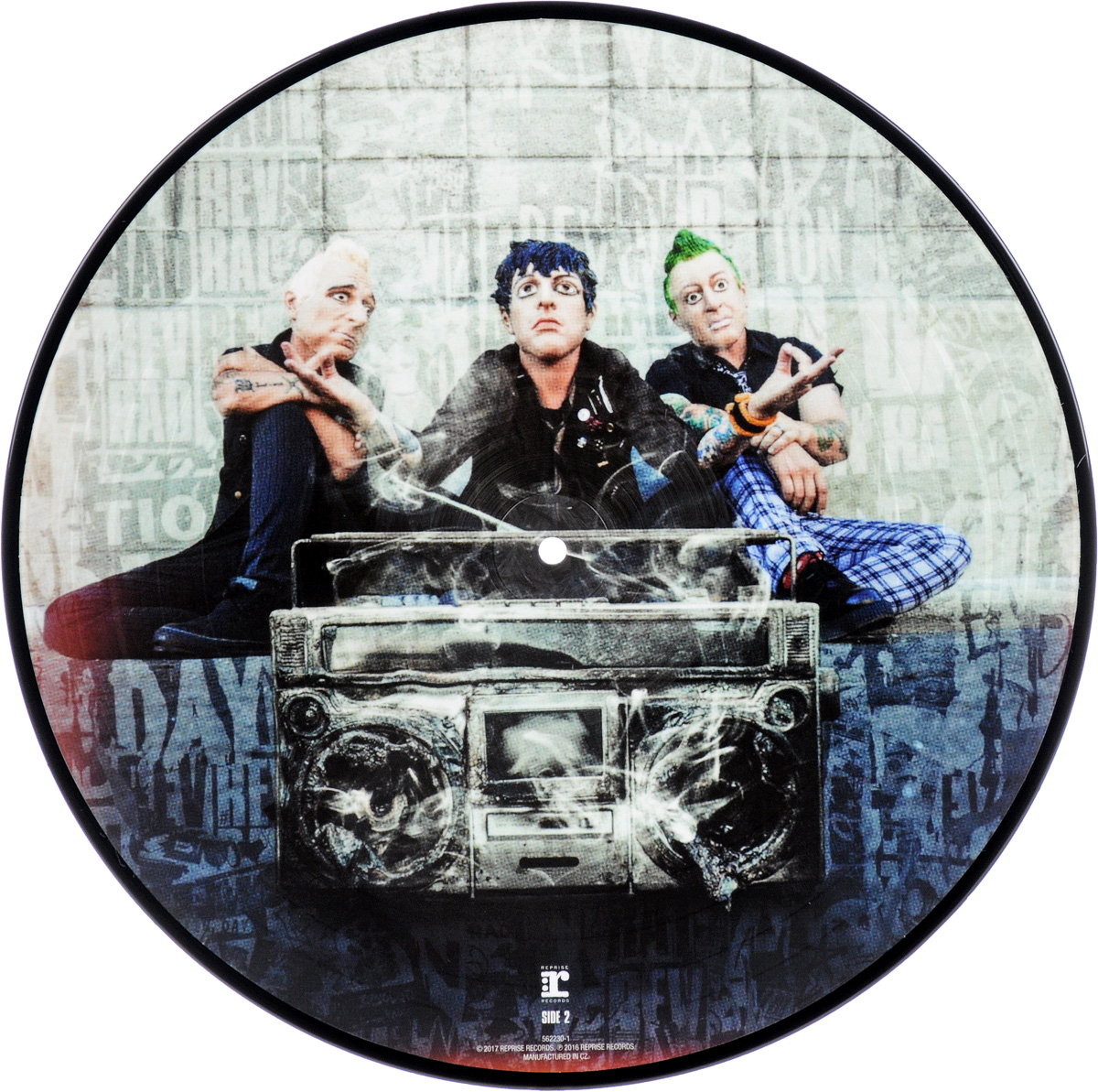 Green Day Green Day. Revolution Radio. Picture Vinyl (LP) green day green day on the radio 2 lp