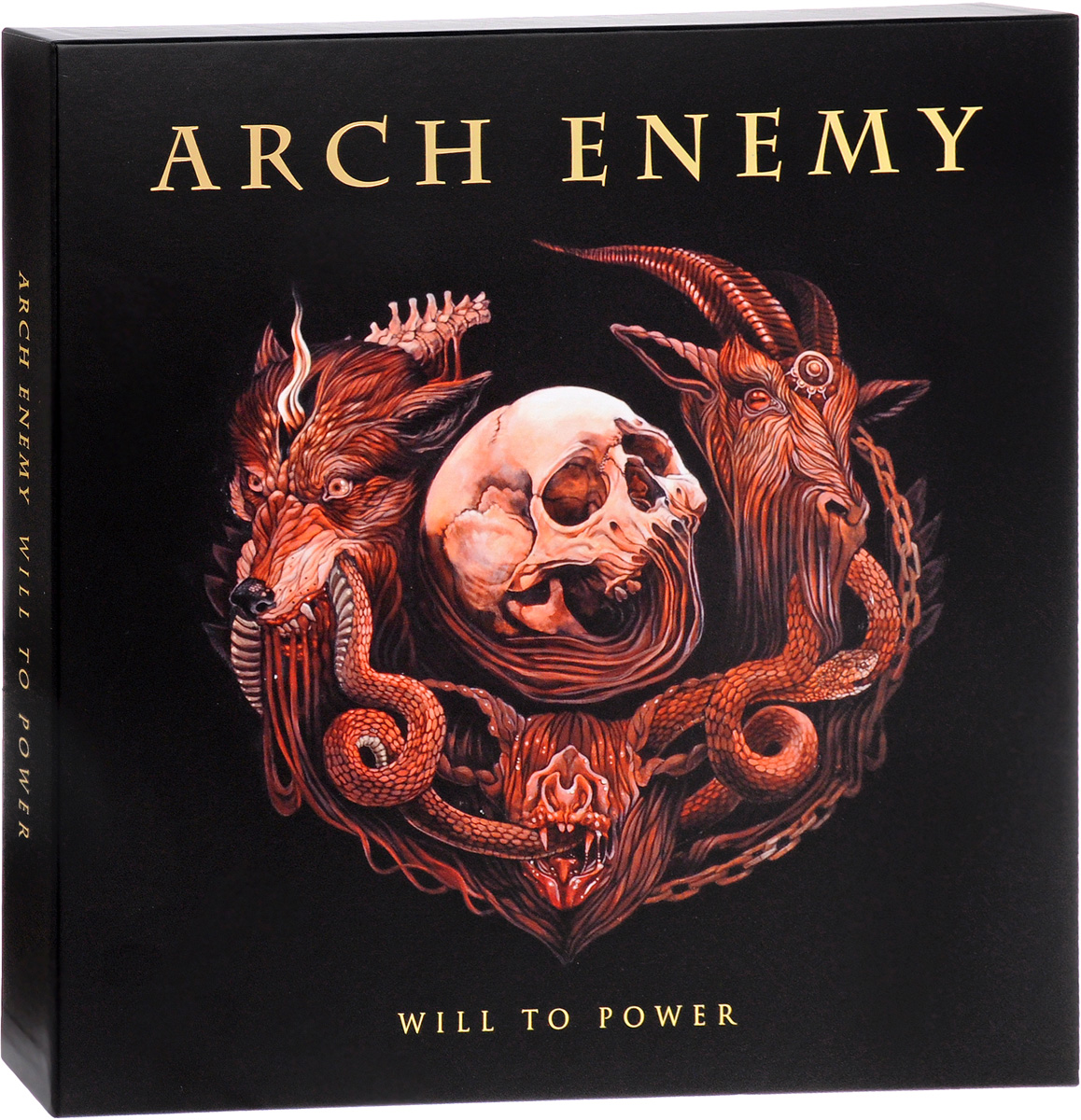 Arch Enemy Arch Enemy. Will To Power. Limited Deluxe Edition (LP + мини-LP + 2 CD) arch enemy arch enemy burning bridges deluxe edition
