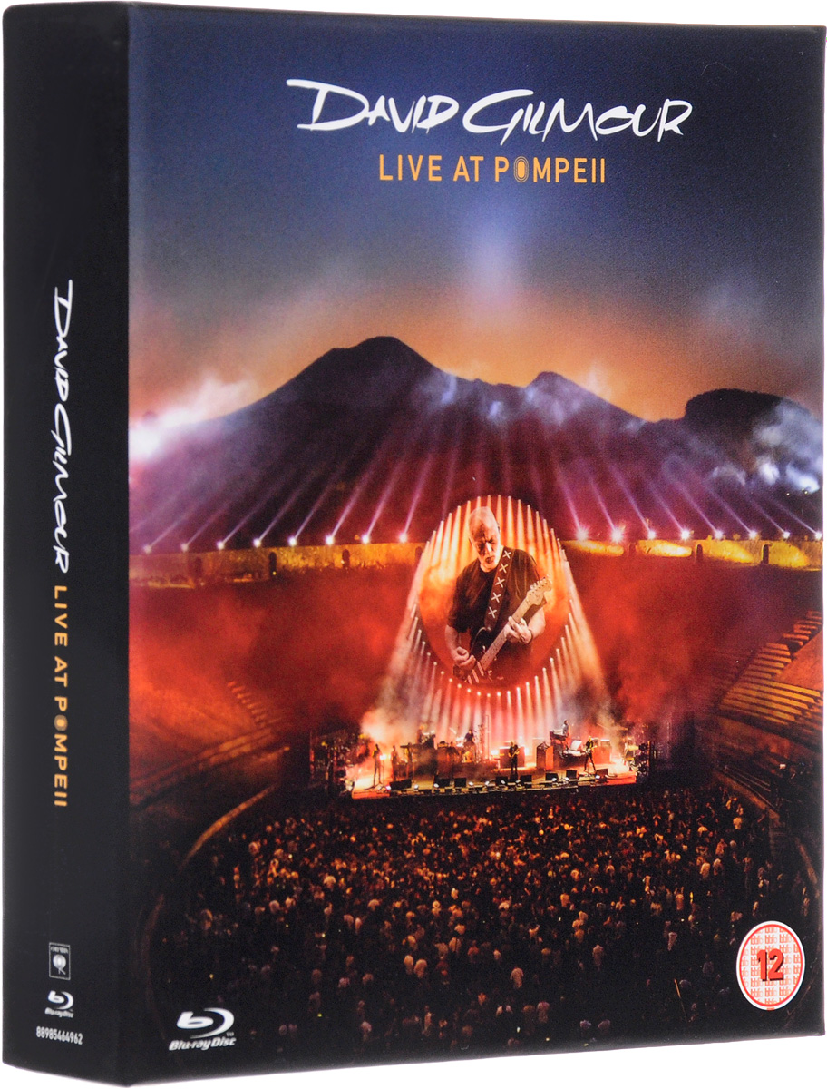Дэвид Гилмор David Gilmour. Live At Pompeii. Deluxe Edition (2 CD + 2 Blu-ray) цена