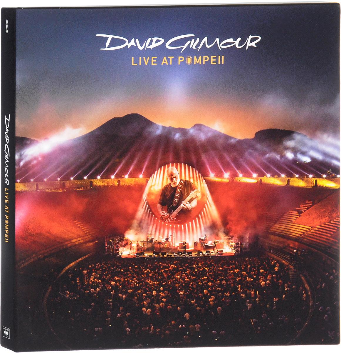 Дэвид Гилмор David Gilmour. Live At Pompeii (4 LP) blu ray david gilmour live at pompeii