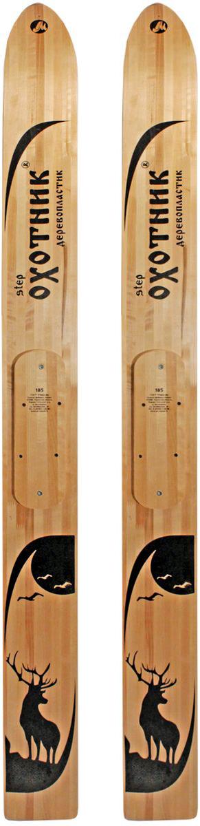 Лыжи охотничьи Маяк Охотник, дерево-пластиковые, 175 х 15 см