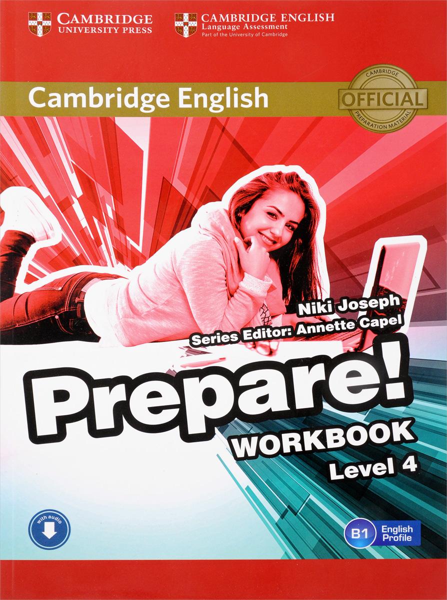 Cambridge English Prepare! Level 4: Workbook with Audio prepare level 2 workbook