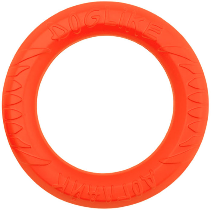 """Снаряд """"Doglike"""", для дрессировки собак, средний, цвет: оранжевый"""