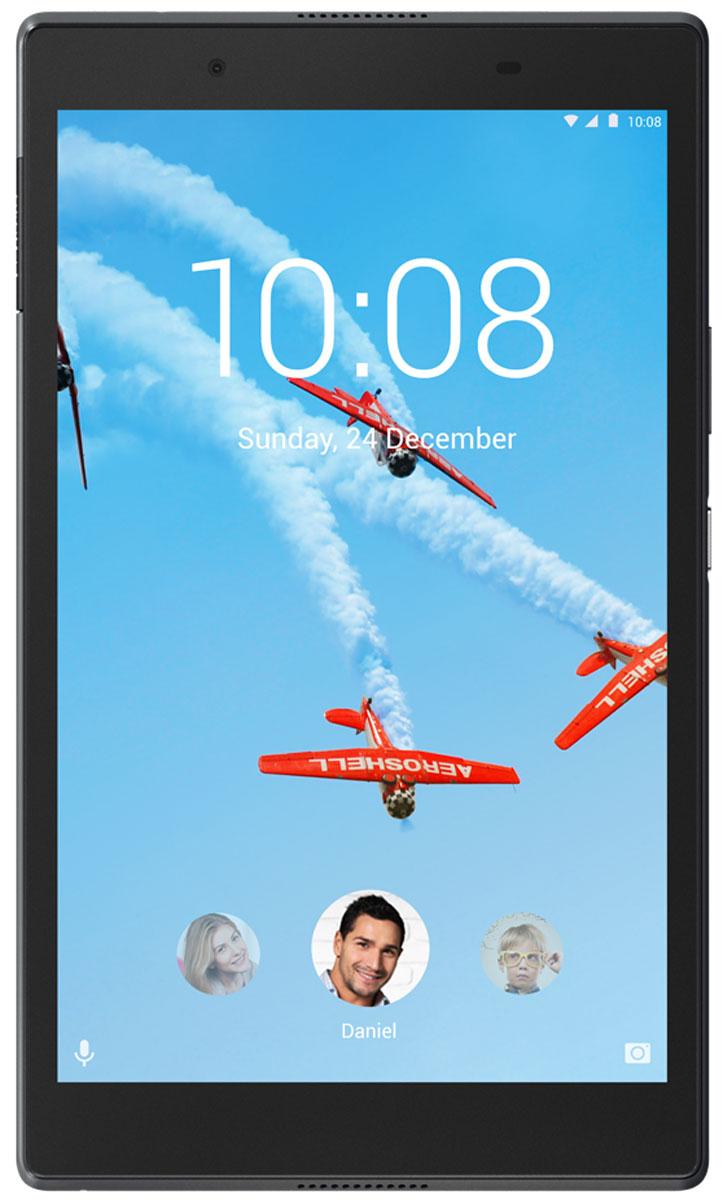 8 Планшет Lenovo Tab 4 TB-8504X Wi-Fi + LTE, 16 GB, черный планшет explay surfer 8 01
