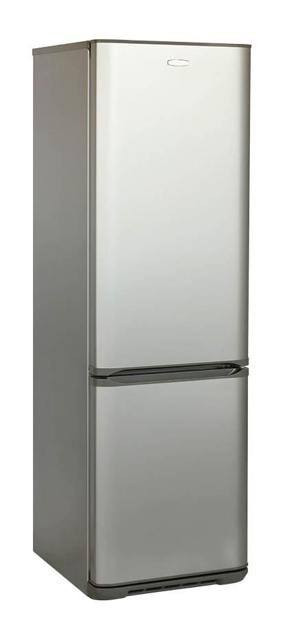 Двухкамерный холодильник Бирюса M360NF, Б-M360NF, gray metallic холодильник бирюса б w139 двухкамерный белый