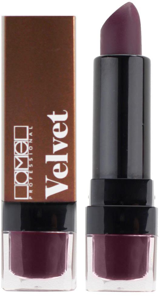 Lamel Professional Помада для губ Velvet матовая 06, 4 г lamel professional стойкий матовый блеск для губ velvet cream 06 8 г