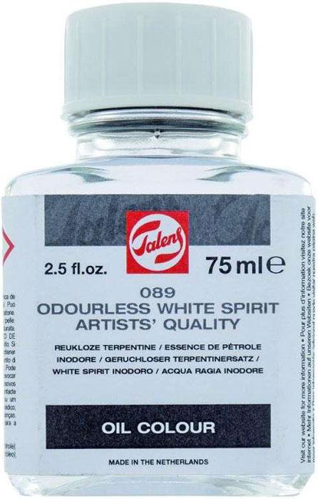 Royal Talens Растворитель Уайт-спирит без запаха цвет 089 бесцветный 75 мл уайт спирит 0 9л арт тов 128981