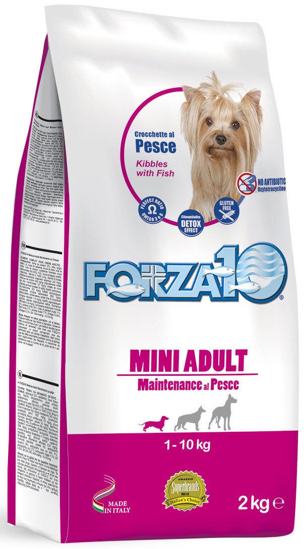 """Корм сухой Forza10 """"Maintenance"""" для взрослых собак мелких пород, с океанической рыбой, 2 кг"""
