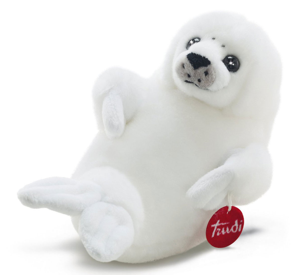 Trudi Мягкая игрушка Белый Тюлень 28 см