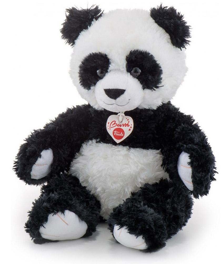 Trudi Мягкая игрушка Панда 38 см16559Панды - наимилейшие создания. По своей природе это весьма безобидные и неуклюжие медведи, которые всегда вызывают улыбку на лице и массу позитива.Черно-белый медвежонок-панда тянет к вам свои плюшевые лапки и одаряет волной умиления. Trudi создают свои игрушки, основываясь на славных, добрых и веселых персонажах, максимально точно приближая их к оригиналам. В создании каждой игрушки используются только высокопробные материалы, прошедшие все европейские проверки качества.Каждая игрушка это теплота, забота, доверие и индивидуальный подход. Даря мягкую игрушку своим близким, вы передаете им эти нежные чувства. Этот подарок всегда будет напоминать им о вас.