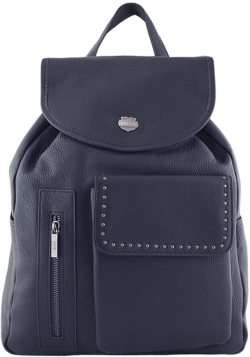 Рюкзак мужской Bruno Perri, цвет: синий. 5220-7/6 рюкзак спортивный мужской adidas цвет синий dm7680