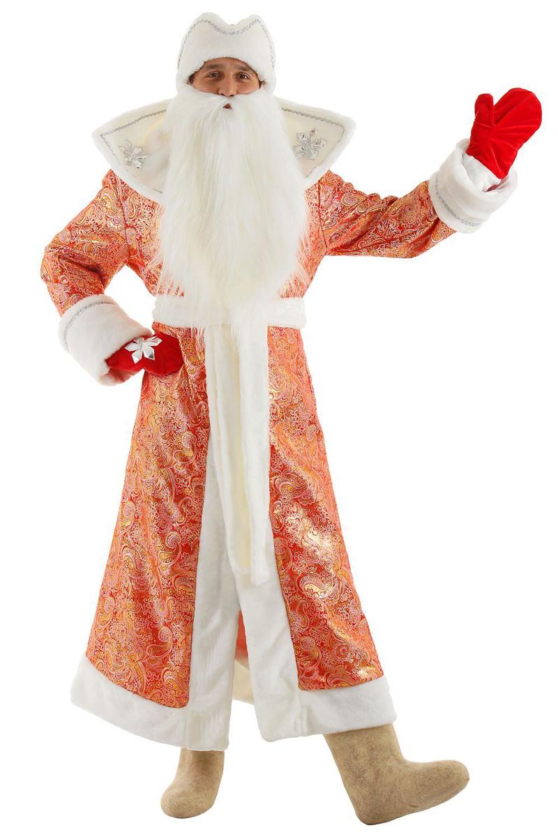 Карнавальный костюм Бока Дед Мороз, цвет: красный. Размер 52/54. 1577029 карнавальный костюм бока дед мороз цвет синий размер 52 54 1828064