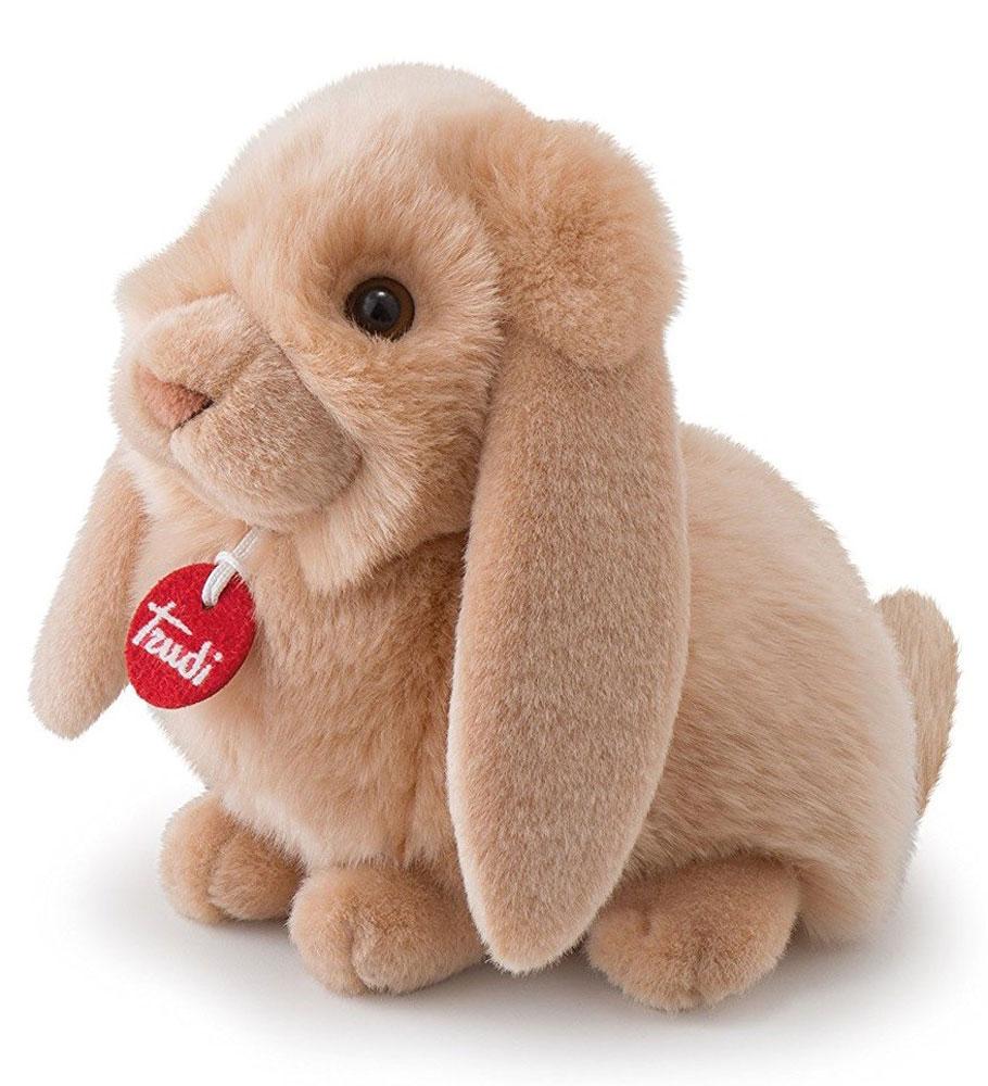 Trudi Мягкая игрушка Кролик-пушистик 24 см маска для сна кролик с ушками пакет 12 37559 yz 7256