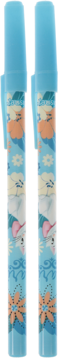 Academy Style Ручки шариковые Marie Cat 2 штMCAB-US1-116-H2Ручки шариковые, цвет пасты синий. Печать на корпусе - термоперенос. Ручка изготовлена из пластика. Размер ручки: 20 см х 6 см х 1 см.