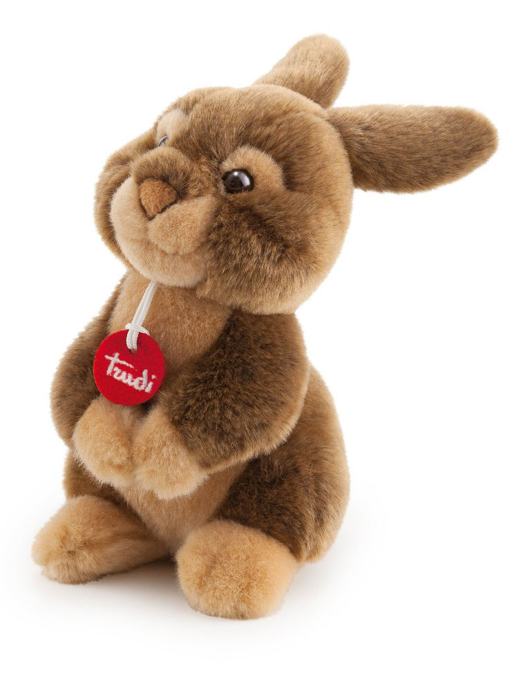 Trudi Мягкая игрушка Заяц Марселло 22 см