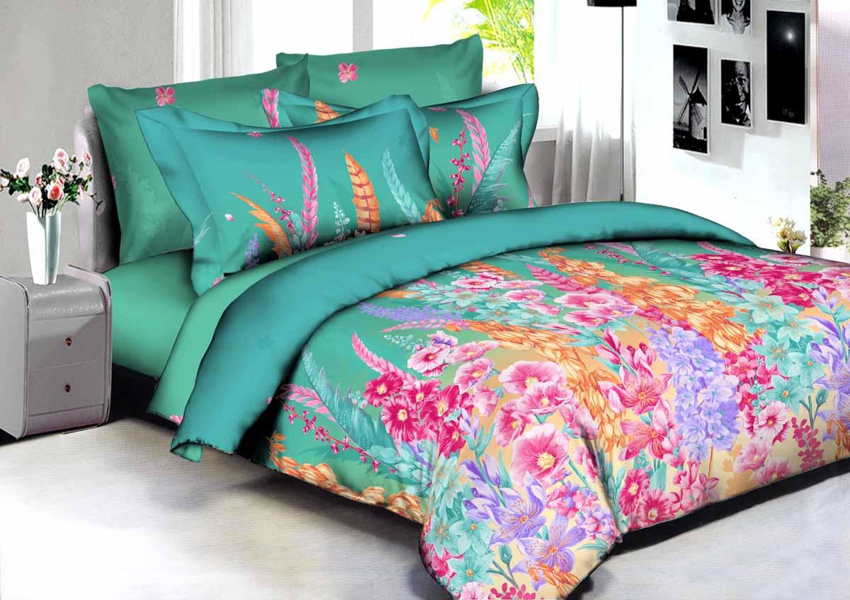 Комплект белья Amore Mio Buenas Noches Rio, 2-спальный, наволочки 70x70. 8659386593В постельном белье Buenas noches используется сатин премиального качества, плотный, шелковистый, с широким списком исключительных свойств. Яркий насыщенный цвет обеспечен высоким качеством печати устойчивыми гипоаллергенными активными красителями. Аккуратный и качественный пошив на нашем высокотехнологичном производстве. Кнопки на пододеяльнике - наше ноу-хау - обеспечит комфорт и практичность. Богатый выбор классических и современных дизайнов. Оригинальный дизайн наволочек не только удобен для сна, но и украшает постель. ервоначальный внешний вид долгие годы. Яркий насыщенный цвет обеспечен высоким качеством печати устойчивыми гипоаллергенными активными красителями. Аккуратный и качественный пошив на нашем высокотехнологичном производстве. Увеличенные размеры простыней Кнопки на пододеяльнике - наше ноу-хау - обеспечит комфорт и практичность. Оригинальный дизайн наволочек не только удобен для сна, но и украшает постель. Советы по выбору постельного белья от блогера Ирины Соковых. Статья OZON Гид