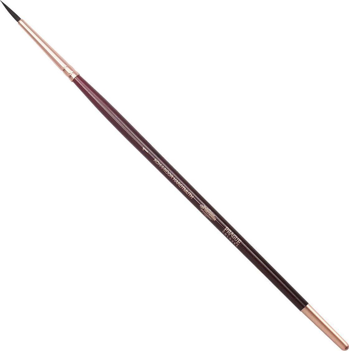 Koh-I-Noor Кисть белка круглая №1 короткая ручка 200379 кисть белка живописная круглая из натурального волоса белки 6 блистер ab006so