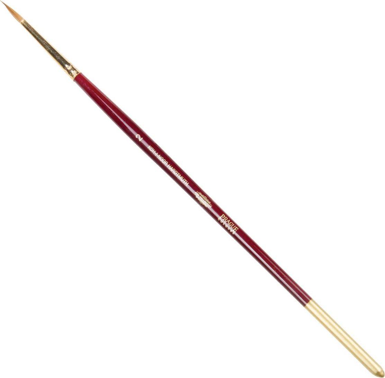 Koh-I-Noor Кисть колонок круглая №2 короткая ручка 200381 koh i noor кисть белка круглая 10 короткая ручка 200401