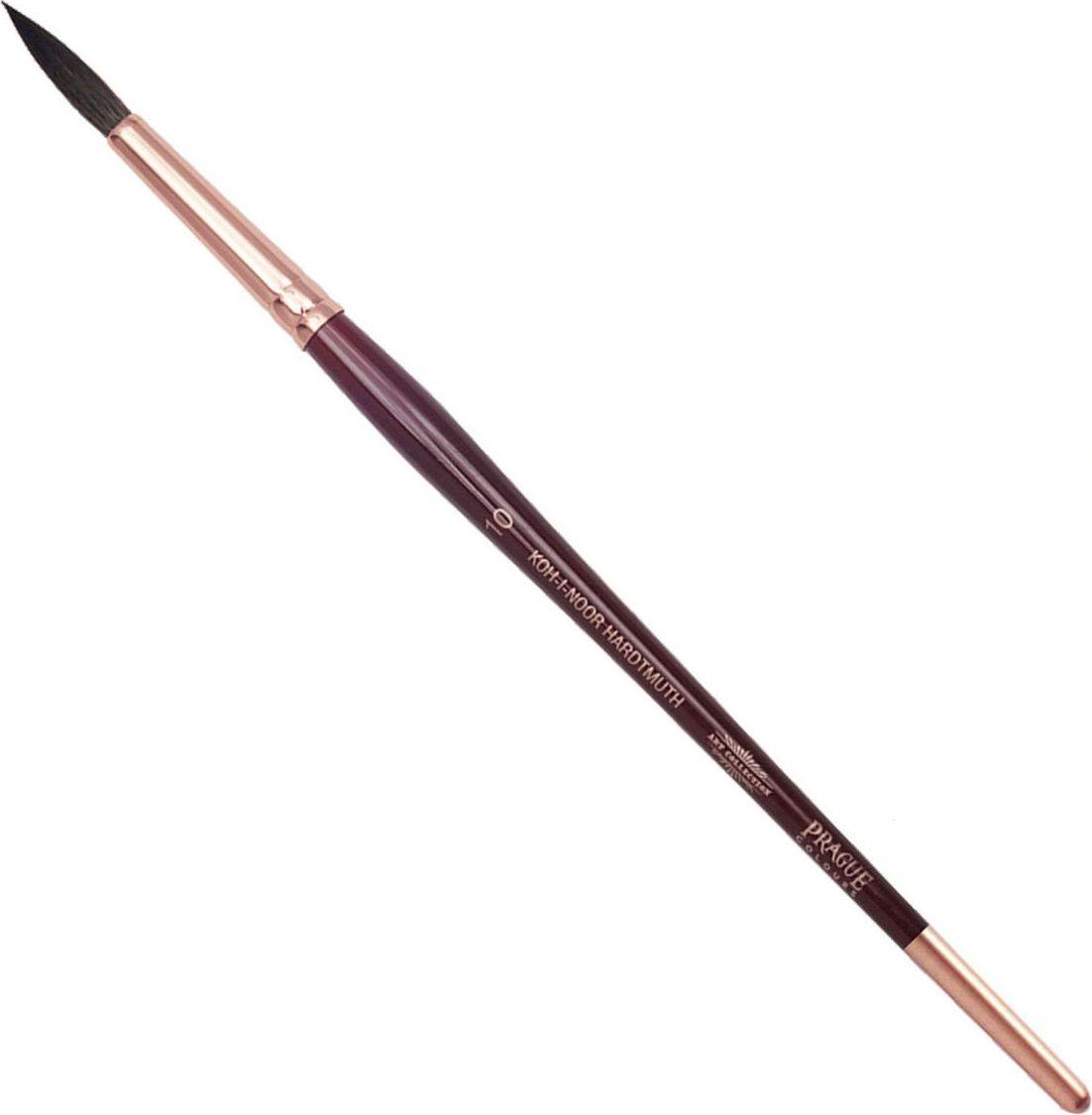 Koh-I-Noor Кисть белка круглая №10 короткая ручка 200401 кисть белка живописная круглая из натурального волоса белки 6 блистер ab006so