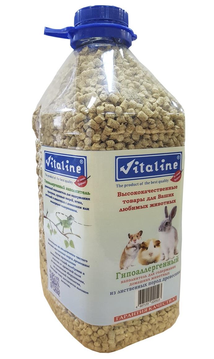 Наполнитель для кошачьего туалета Vitaline, из лиственных пород древесины, 4,5 л наполнитель для кошачьего туалета vitaline из лиственных пород древесины 4 5 л