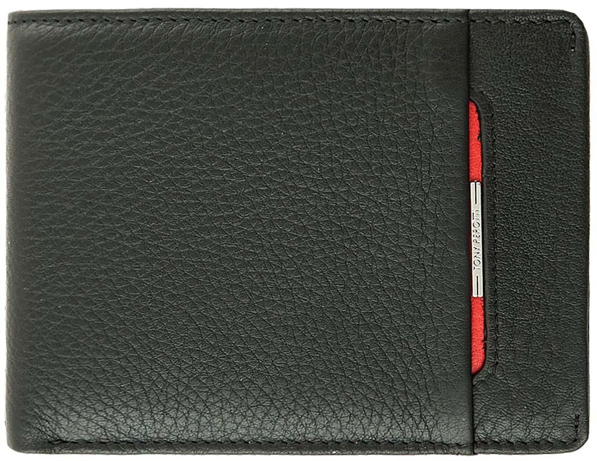 Кошелек мужской Tony Perotti, цвет: черный, 681036/1 цена