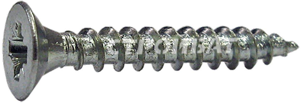Саморез Стройбат, универсальный, оцинкованный, 3х40, 20 шт2741013Используются для крепления различных конструкций к дереву, тонколистовому металлу и другим материалам. Рекомендуем!