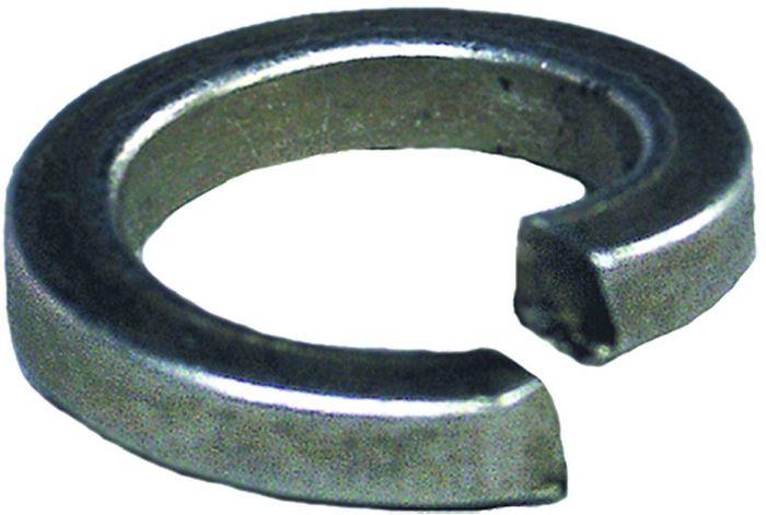 Шайба Стройбат, оцинкованная, пружинная, DIN 127, 6 мм, 20 шт шайба стройбат din 125a 4 мм 500 шт