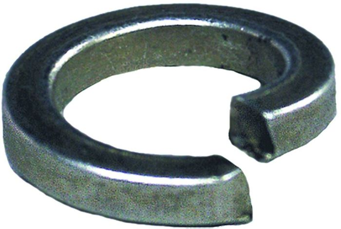 Шайба Стройбат, оцинкованная, пружинная, DIN 127, 10 мм, 8 шт шайба стройбат din 125a 4 мм 500 шт