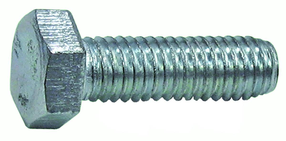 Болт Стройбат, оцинкованный, DIN 933, М8х40, 3 шт болт с шестигранной головкой din 933 m20x80мм 10шт кл пр 8 8 оцинкованный kraftool