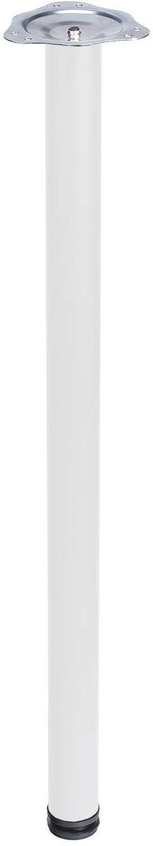 Опора для стола Element, регулируемая, цвет: белый, 50х50х710 мм