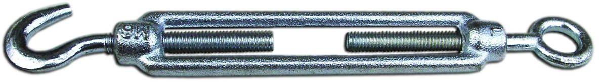 Талреп Fixbox, оцинкованный, DIN 1480, 8 мм, 1 шт4742763Незаменимое бытовое приспособление для выбирания слабины, стягивания и регулировки натяжения цепей, веревок, проводов, шторных струн.