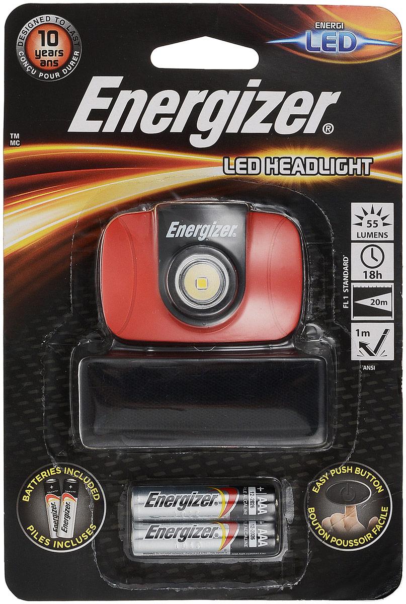 Фонарь налобный Energizer LED Headlight. E300370900