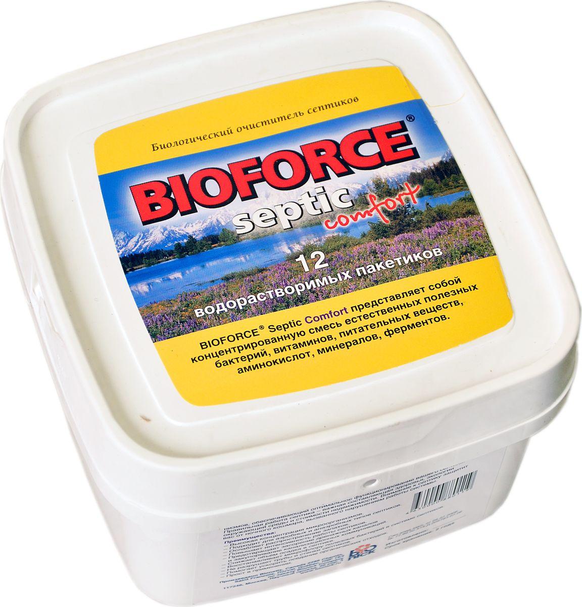 цена на Средство для септиков и биотуалетов Bioforce Septic Comfort, 56 г, 12 шт