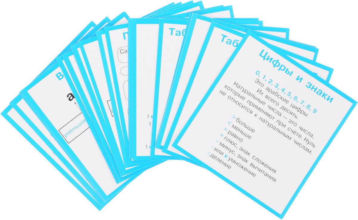 Правила по математике в таблицах. 1-4 классы (набор из 28 карточек) правила по математике в таблицах 1 4 классы набор из 28 карточек
