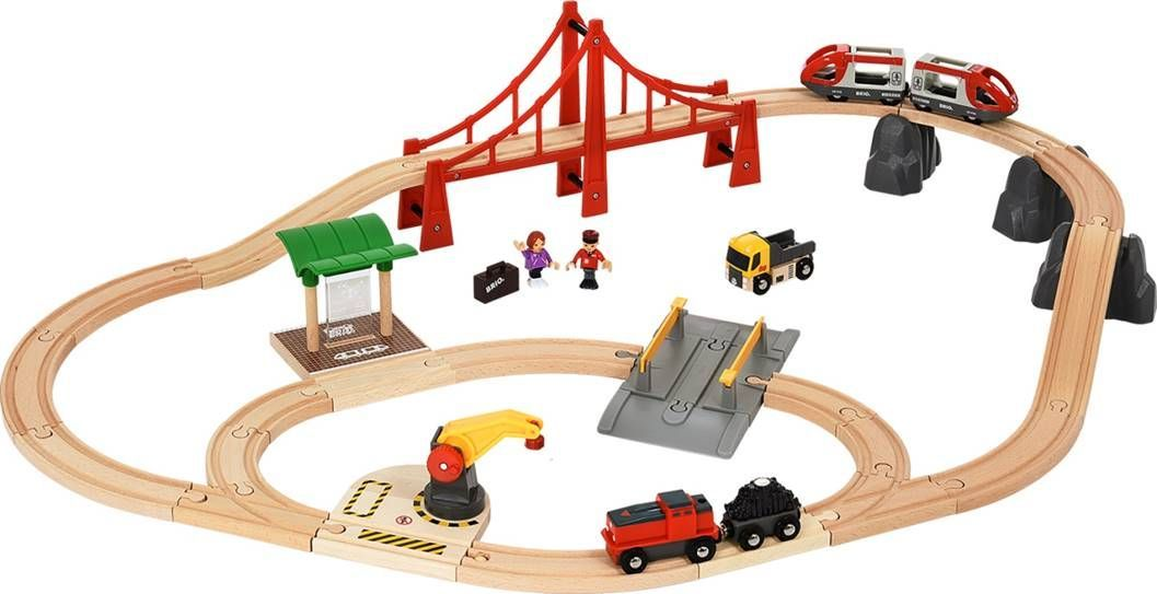 Brio Железная дорога В городе