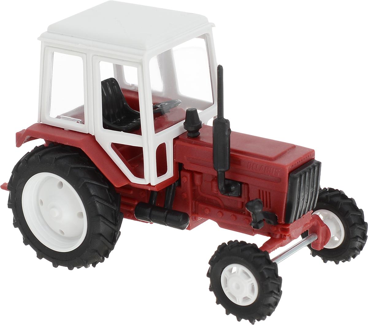 Мир отечественных моделей Трактор МТЗ-82 цвет красный peep toe ankle strap pumps
