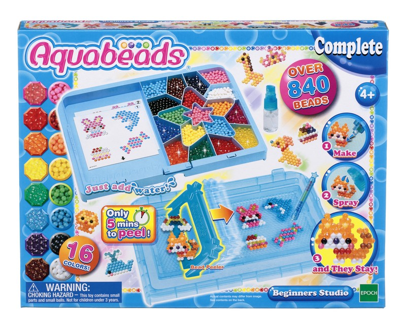 мозаика aquabeads набор бусин студия новичка Aquabeads Набор бусин Студия новичка