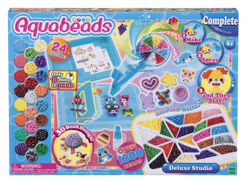 мозаика aquabeads набор бусин студия новичка Aquabeads Набор бусин Студия Делюкс