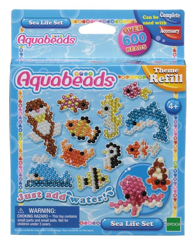 Aquabeads Набор бусин Морские животные