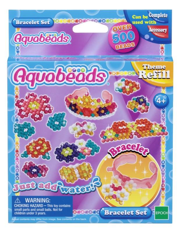 Aquabeads Набор бусин Браслетики набор браслетики семицветики