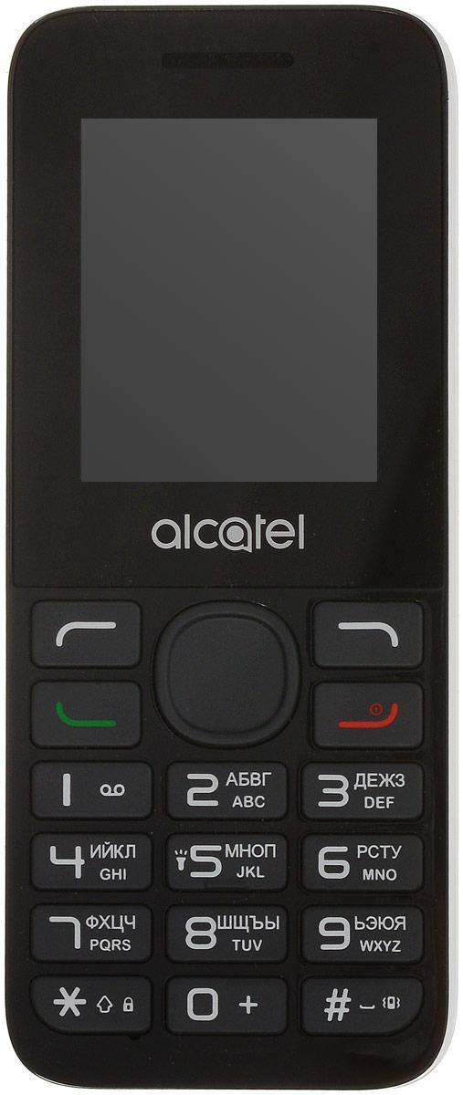 Мобильный телефон Alcatel 1054D, белый мобильный телефон alcatel 1054d белый 1054d 3balru1