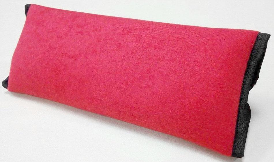 Накладка-подушка на ремень безопасности Auto Premium, цвет: красный. 77155 цена