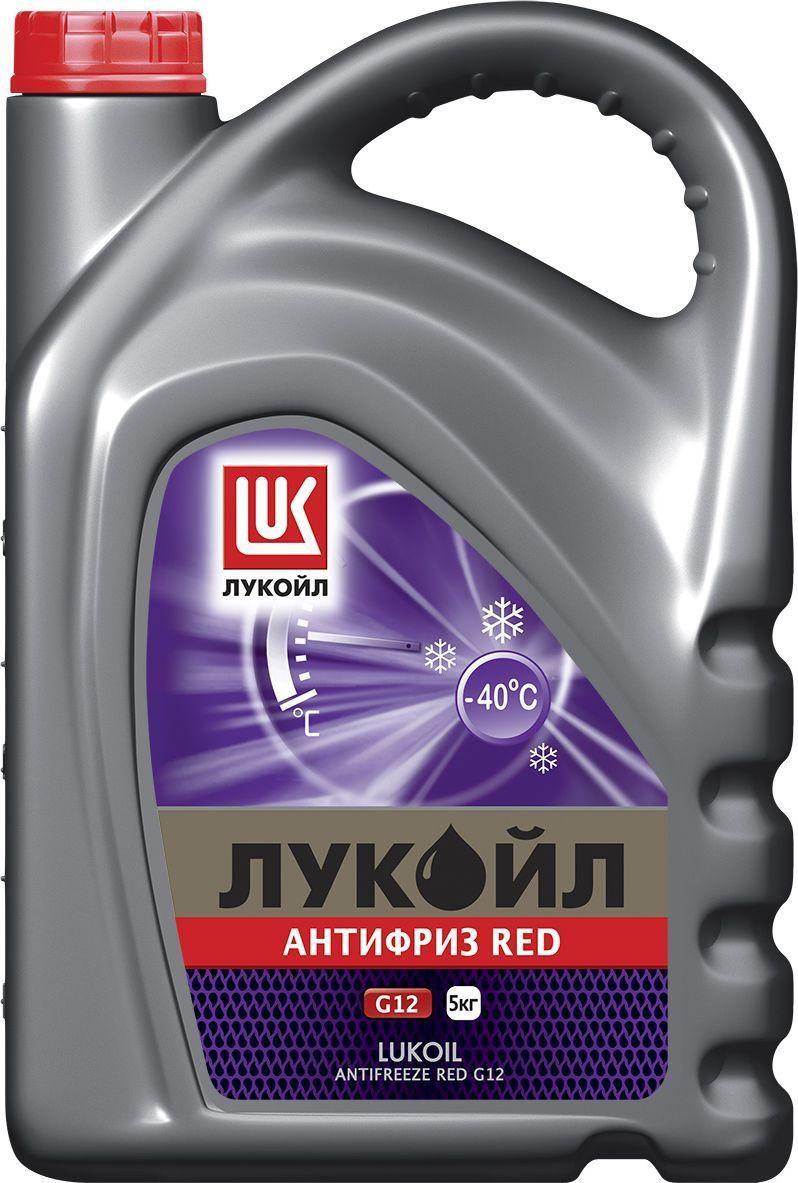 Антифриз ЛУКОЙЛ G12 Red, 5 кг