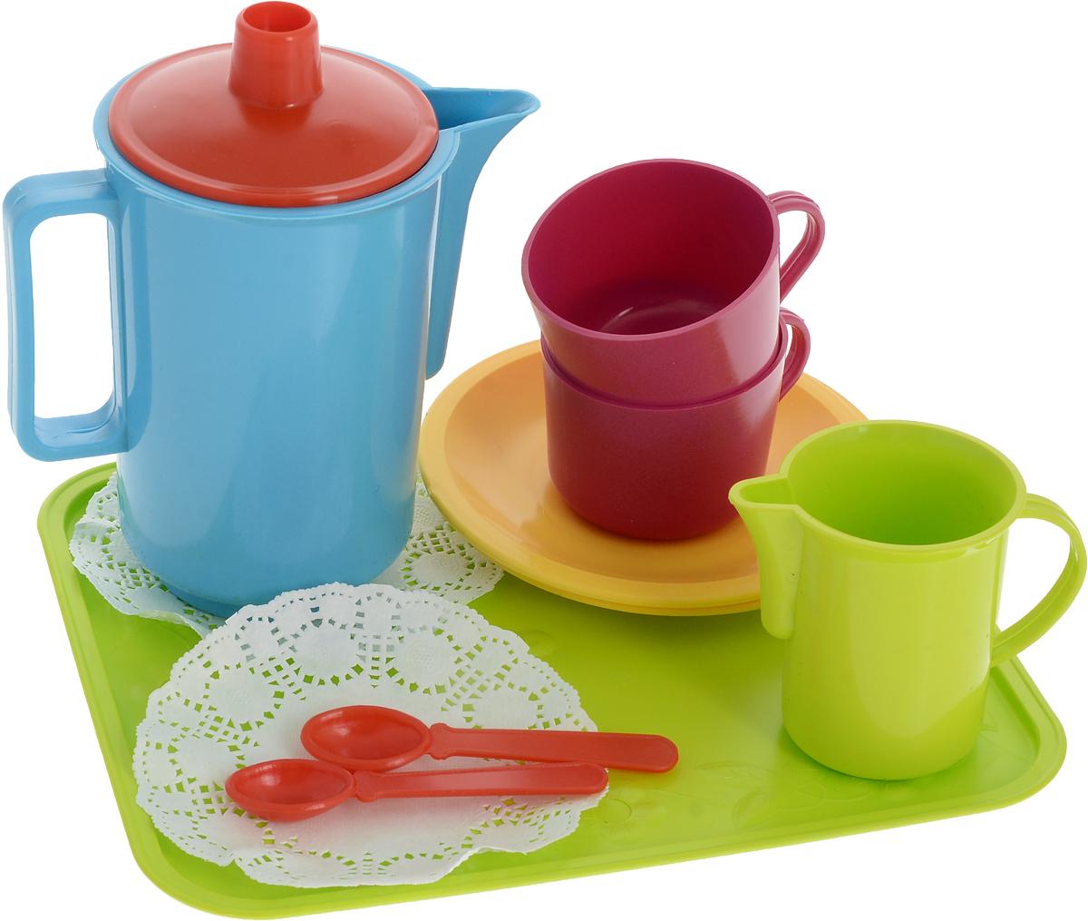 Фото - РосИгрушка Игрушечный чайный набор Молочные реки росигрушка игрушечный чайный набор большая компания