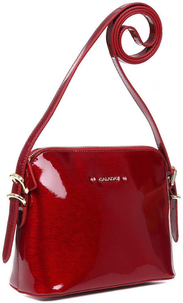 купить Сумка кросс-боди женская Galaday, цвет: красный. GD6576Q по цене 6742 рублей