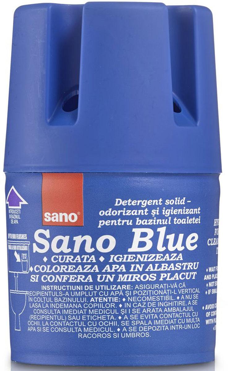 Мыло для сливного бака Sano Blue, гигиеническое, 150 г подвеска для унитаза sano sanobon blue 55 г