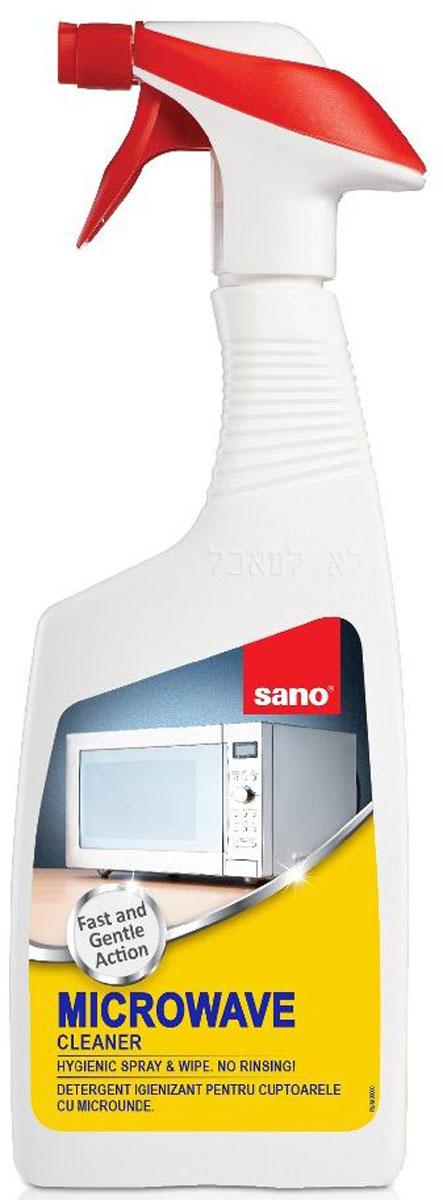 Средство для чистки микроволновых печей Sano Microwave Cleaner, 750 мл средство meule для чистки стеклокерамических поверхностей и микроволновых печей 750 мл