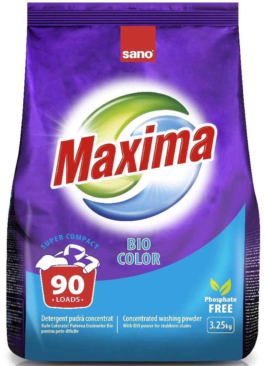 Порошок стиральный Sano Maxima Bio, концентрат, 3,25 кг гель для стирки sano coldwater sensitive концентрированный 2 л